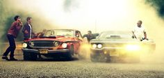 drag race back in the day Street Racing Cars, Ride Or Die, Pretty Photos, American Muscle Cars, Adventure Is Out There, Drag Racing, Mopar, Motor Car, Cars Motorcycles