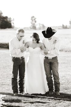 Will power and determination take on a whole new meaning after reading this bride's story! Read more on Style Me Pretty: http://www.StyleMePretty.com/northwest-weddings/2014/03/07/vintage-montana-barn-wedding/ Photography: Shannon Hollman