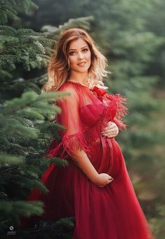 EMILIA Burgundy Haute Couture Christmas Dress for Photoshoot Maternity Photo Props, Maternity Portraits, Maternity Pictures, Maternity Photography, Maternity Underwear, Maternity Gowns, Unique Style, Girls Dresses, Costumes