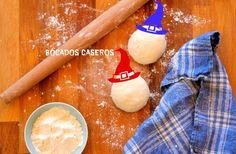 Bocados Caseros: Cómo hacer masa de pizza Italiana fina y crujiente... Pan Bread, Empanadas, Food, Bakery Recipes, Pizza Dough, Homemade, How To Make, Eten, Empanada