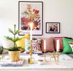 Home of debbie.nu dendardebbie svenskt tenn vänskapsknuten tre kulor hortus rumsgran moderna museet vardagsrum Livingroom