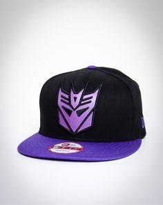Decepticon Snap Back Flatbill New Era Hat