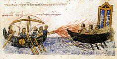 Feuer: Lebenserhaltendund zerstörerisch zugleich. Ein Element, dass in der mittelalterlichen Kriegführung auf immer erfinderische Art und Weise Anwendung fand und mindestens so furchterregend war …