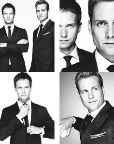 Gabriel Macht - Patrick J. Adams  Suits  #HarveySpecter