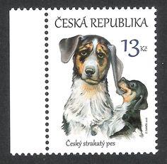 Tschechische Republik 2016 ** MNH Mi# 873 Hund dog