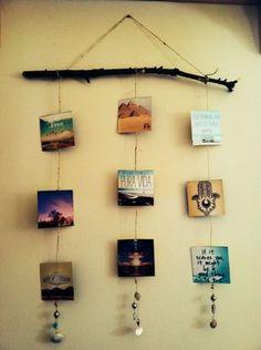 15 idées pour créer un mur de photos original