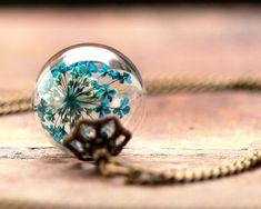 dill blossom necklace - #dillblüten kette