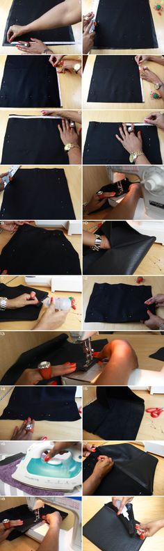 Mood DIY: Leather Envelope Laptop Case « Mood Designer Fabrics Sewciety Blog