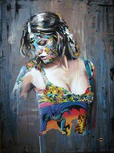 Super hero Canvas III - art of Sandra Chevrier