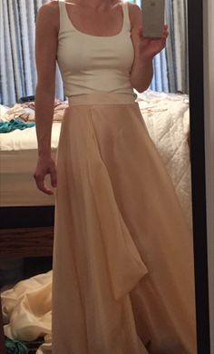 Carol Hannah Mulberry skirt   Kensington tank: buy this dress for a fraction of the salon price on PreOwnedWeddingDresses.com