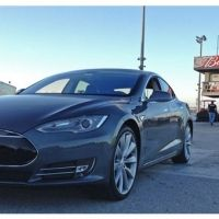 NEDRA dons the Tesla Model S as the 'world's quickest production electronic vehicle', can run a 1/4 mile in 12 seconds
