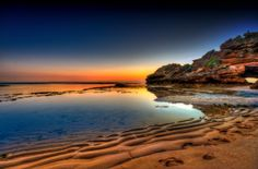 500px / Portsea Ocean sunset by Harry Mellos