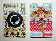 LOTSA SCRAP from 2amscrapper: Altered Playing Cards