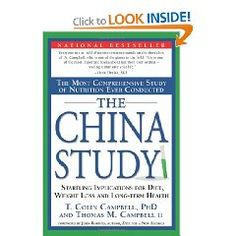 This book changed my life and my eating habits.    The China Study: The Most Comprehensive Study of Nutrition Ever Conducted And the Startling Implications for Diet...