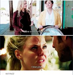 Emma's view on Captain Swan at the beginning of S4 and the end