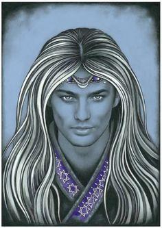 Thranduil   (Look-a-like)   As written in the Dark Prince 'verse.     Art by Ebe Kastein.  http://enednoviel.fandomish.net/ebe_lotr5.php