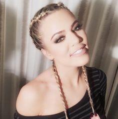 Khloe Kardashian Rocks New Hairstyle Braids