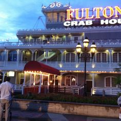 Disney World,Fulton crab house!!! already have reservations here for my birthday!!!! So excited :O)
