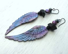 Ariel's wings...Artisan angel wing by Wildcopperroses on Etsy