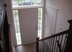 Image result for split level entry railings