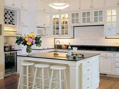 Great L Shaped Kitchen Layouts with Island