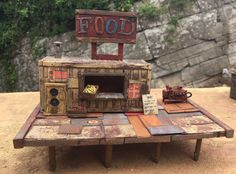 Junktown - The Rad Cafe Post Apocalyptic Housing in 28mm