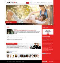 Desenvolvimento do novo site institucional do Grupo Latreille.