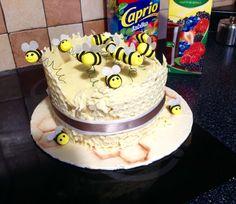 Včelky dort