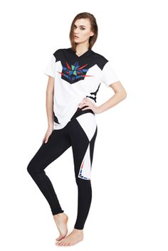 COLLECTION 6 The t-shirt and the tights both match however one would not need to wear the one with the other. In a collection it is important to create a collection which is unified and constant.