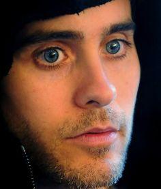 Jared Leto---those blue eyes
