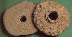 Molino de mano realizado en basalto.