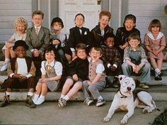 The Little Rascals! So much love for this movie! Let's see, this was the first movie that taught me the less cute but sweeter boy was the one to go with, that ballet was absolutely awesome, that I wanted a boy to be as attentive with me as Alfalfa was with Darla, and that I absolutely loooooved boys who wear glasses and sing well. Ah, the '90s.