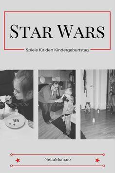 Preiswerte Dekoideen und tolle Spielideen für kleine Star Wars Fans #kindergeburtstag