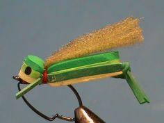 Fly Tying a Weedless Foam Grasshopper with Jim Misiura
