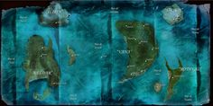 Concept Art for a fantasy Novel that I'm writing called Idilia's Kingdom. This is the map of Idilia
