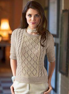 Cat. 14/15 - n° 883 3/4 sleeve openwork sweater | Buy, yarn, buy yarn online, online, wool, knitting, crochet | Buy Online