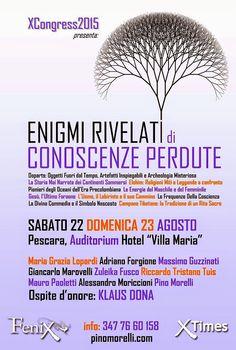 GIANCARLO MAROVELLI ARCHITETTO: XCongress 2015 Enigmi Rivelati di Conoscenze Perdu...