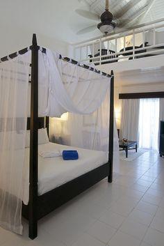 Honeymoon suite (2 levels) at Ocean Blue & Sand resort in Punta Cana, Dominican Republic.