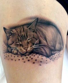 Tattoo by Matteo Pasqualin.. i would never get this but i love it.