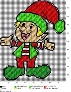 HAPPY ELF by GrannyS Designs