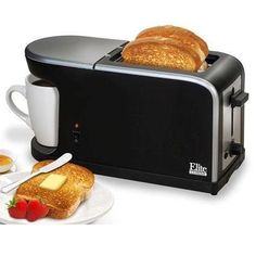 Elite Cuisine ECT-819 MaxiMatic 2-in-1 Dual Function Breakfast Station Toaster and Coffee Elite Cuisine http://www.amazon.com/dp/B00F5X04HG/ref=cm_sw_r_pi_dp_gflxvb0N0YZH8
