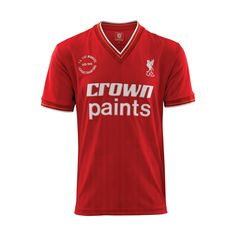 Double Winners 86 Shirt - Retro - LFC Official Online Store