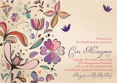 Rustic Bridal Shower Invitation Shabby Chic by digibuddhaPaperie, $15.00