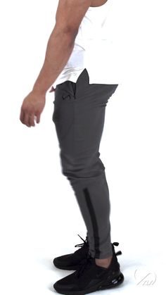 Contemporary waist to ankle tapered design to accentuate body shape and improve the fitted look Mens Athletic Fashion, Athletic Outfits, Athletic Wear, Mens Workout Pants, Workout Clothes For Men, Mens Jogger Pants, Joggers For Men, Stylish Men, Stylish Clothes For Men
