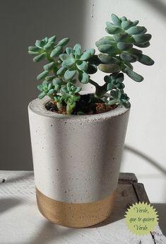 Concrete Planter Concrete Pot Housewarming Gift Plant | Etsy