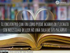 El encuentro con un libro puede acabar en flechazo sin necesidad de leer ni una sola de sus palabras