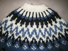 How to knit an Icelandic Sweater