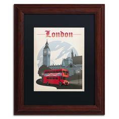 'London, England' by Anderson Design Group Framed Graphic Art