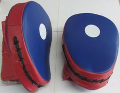 Punch Mitts, Focus Pads RED/BLUE PAIR by Shihan. $29.99. Focus Pads SOLD IN PAIRS