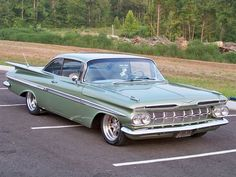 Impala 1959 Maintenance/restoration of old/vintage vehicles: the material for new cogs/casters/gears/pads could be cast polyamide which I (Cast polyamide) can produce. My contact: tatjana.alic@windowslive.com